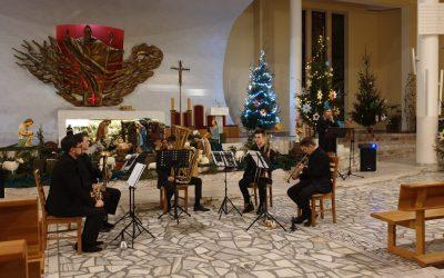 Koncert kolędowy kwintetu Con Sordino