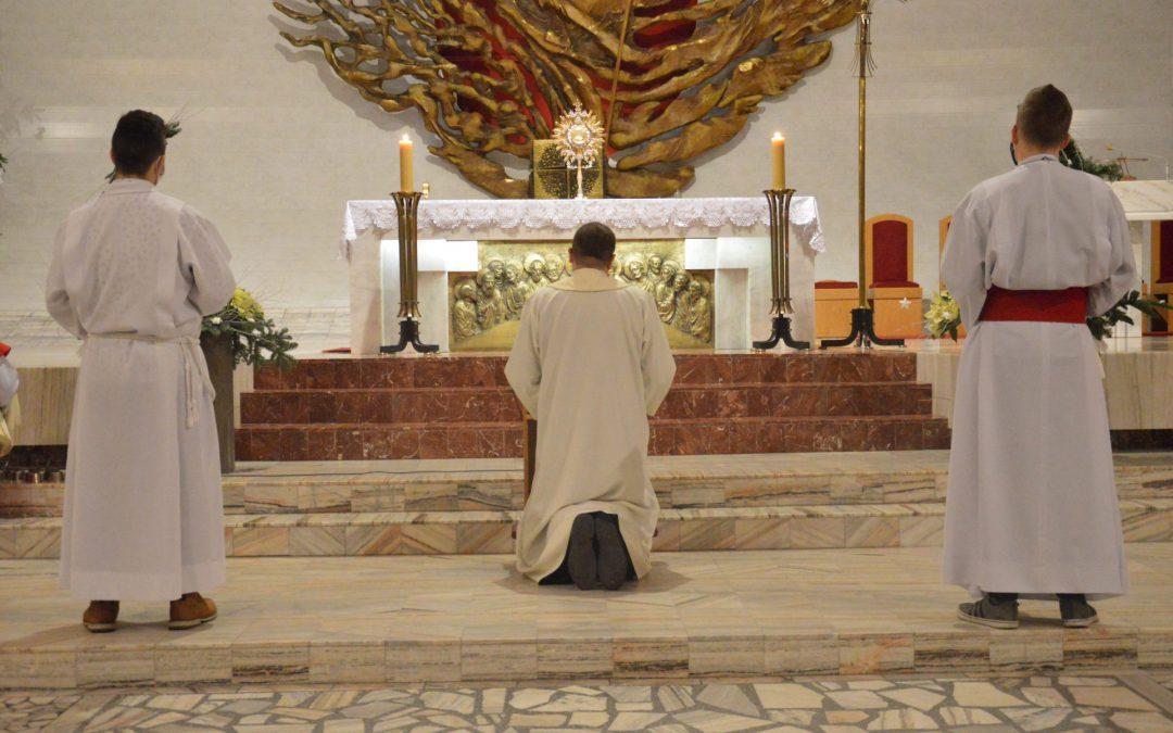 Nabożeństwo i Msza na zakończenie roku