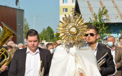 Fotorelacja z procesji Bożego Ciała